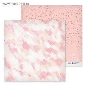 лист бумаги Весенние краски