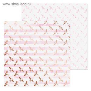 лист бумаги для скрапбукинга Птички