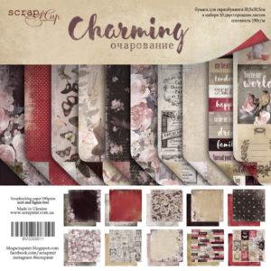Набор двусторонней бумаги 30х30см от Scrapmir Charming (Очарование)