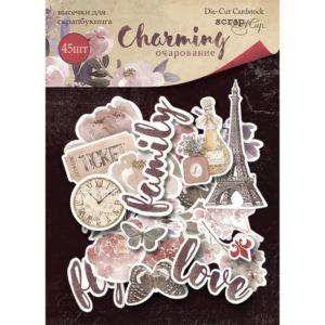 Набор высечек 45шт от Scrapmir Charming (Очарование)