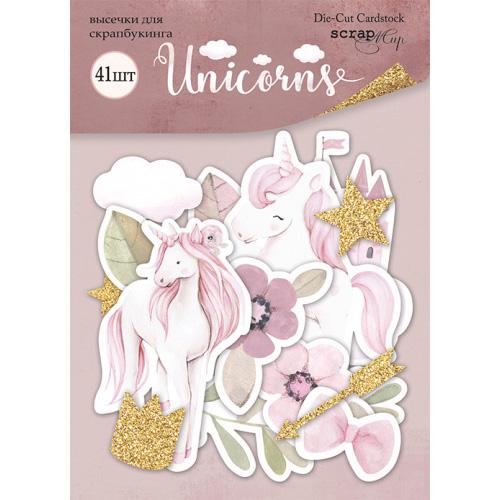 Набор высечек от Scrapmir Unicorns