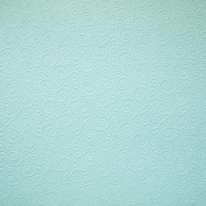 """Бумага с рельефным рисунком """"Завитки"""" А4 Цвет:Светло-голубой"""