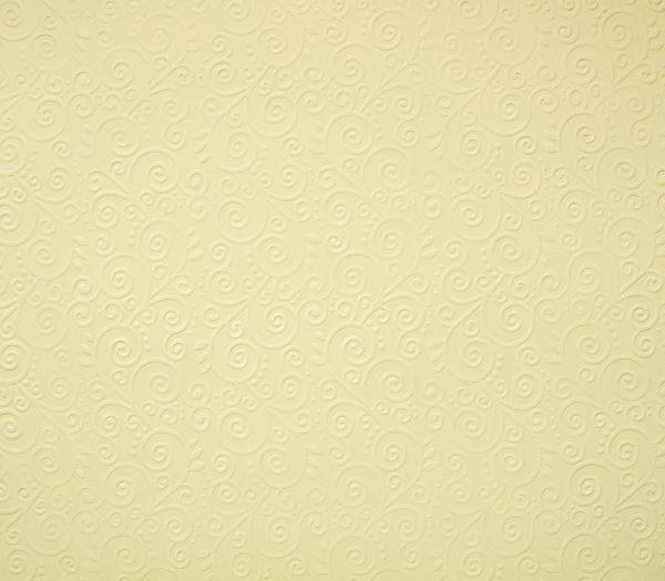 """Бумага с рельефным рисунком """"Завитки"""" А4 Цвет: Кремовый"""