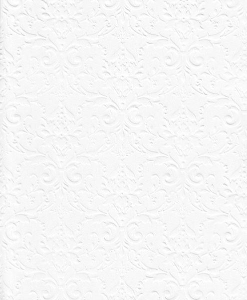 """Бумага с рельефным рисунком """"Дамасский узор"""" А4 Цвет: Белый"""