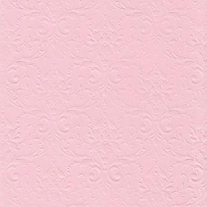 """Бумага с рельефным рисунком """"Дамасский узор"""" А4 Цвет: Розовый"""