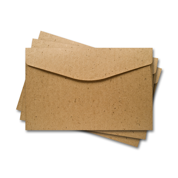 ОКО5000 Конверт для откр 11х17 см КОМПЛ. 3шт. из Крафт-бумаги