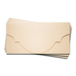 """ОК5302 Основа для подарочного конверта №5 комплект 3шт. Цвет Слон.Кость Фактура """"Яичная скорлупа"""""""