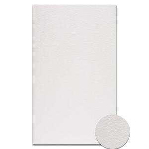 """О21001-2 Открытка двойная белая фактура """"Яичная скорлупа"""" 9,6х16,2"""