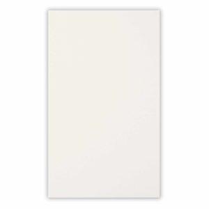 Открытка двойная белая матовая 9,6х16,2