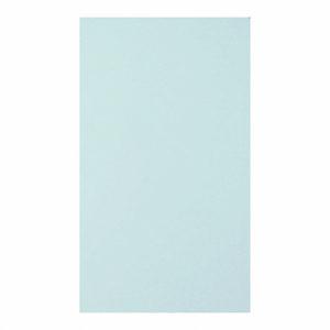 О21011 Открытка двойная светло-голубая матовая 9,6х16,2
