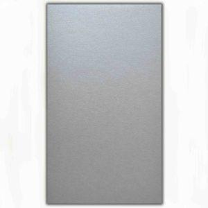 О21015 Открытка двойная серебряная 9,6х16,2