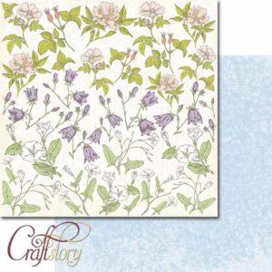404002 Лист Полевые цветы