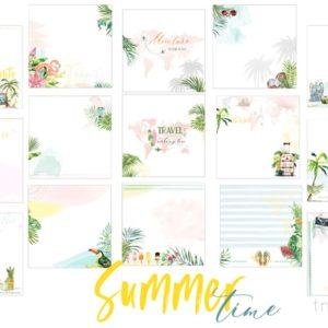 Электронные странички Travel коллекция Summer love