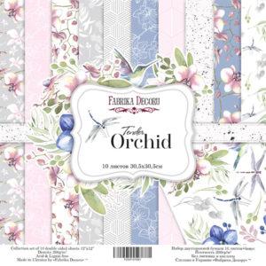 "Набор бумаги ""Tender orchid"", 30,5x30,5 см"
