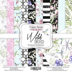 "Набор бумаги ""Wild orchid"", 30,5x30,5 см"