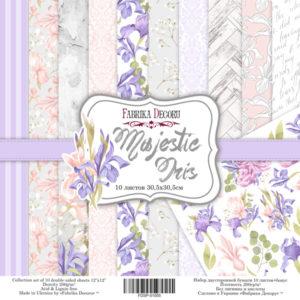 "Набор бумаги ""Majestic Iris"", 30,5x30,5 см"