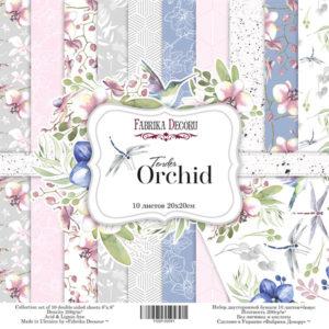 "Набор бумаги ""Tender orchid"", 20x20 см"