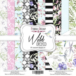 "Набор бумаги ""Wild orchid"", 20x20 см"