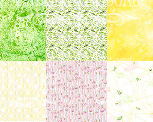 "Набор бумаги ""Spring blossom"", 30,5x30,5см"