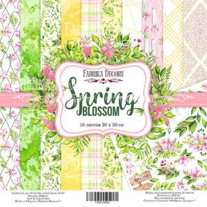 "Набор бумаги ""Spring blossom"", 20x20 см"