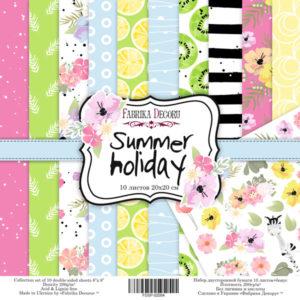 "Набор бумаги ""Summer holiday"", 20x20 см"
