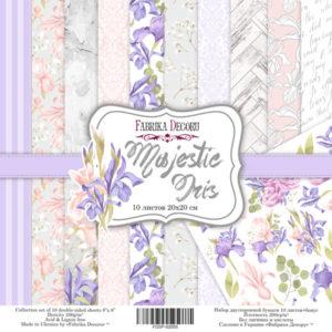 "Набор бумаги ""Majestic Iris"", 20x20 см"