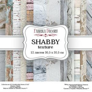 "Набор бумаги ""Shabby texture"", 30,5 x30,5 см"