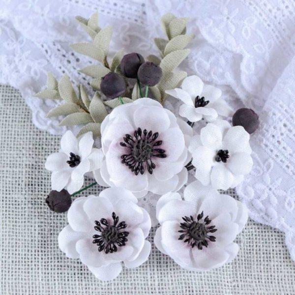 АБ0001 наборов цветов из ткани Pastel Flowers