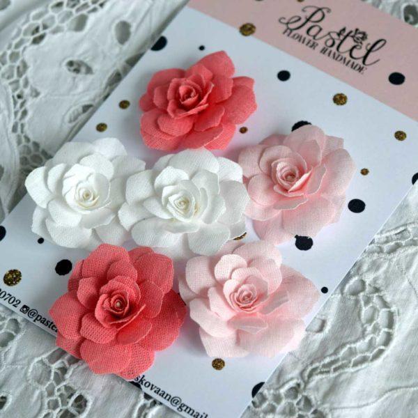 БР0001 наборов цветов из ткани Pastel Flowers
