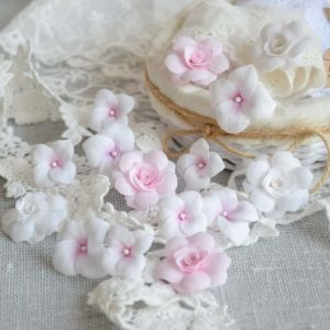 ГРР0001 наборов цветов из ткани Pastel Flowers