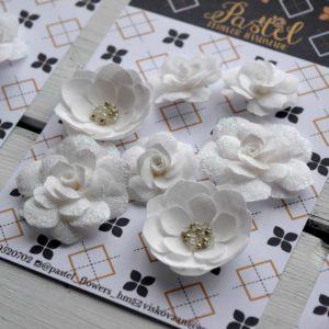 МБ0001 наборов цветов из ткани Pastel Flowers