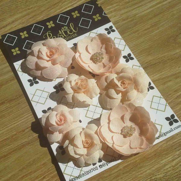 МП0001 наборов цветов из ткани Pastel Flowers
