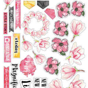 """Набор наклеек (стикеров) #022, """"Magnolia Sky"""""""