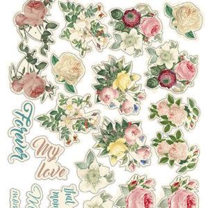 """Набор наклеек (стикеров) #024, """"Letters of love"""""""