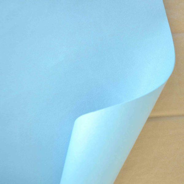 Отрез переплетного кожзама, голубой