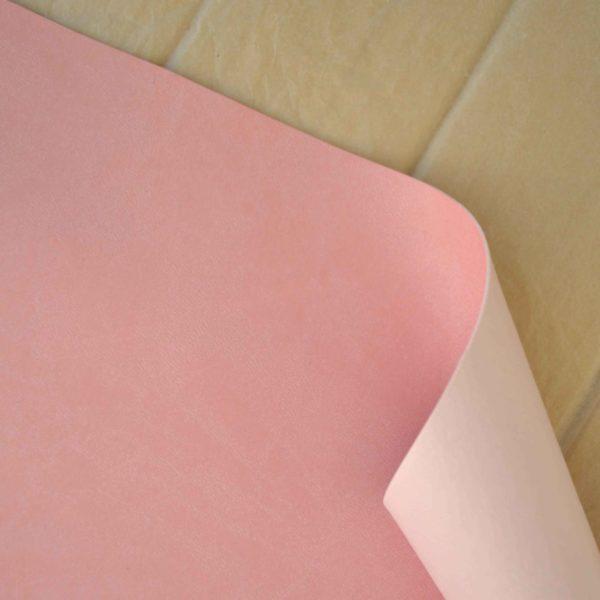 Отрез переплетного кожзама, розовый