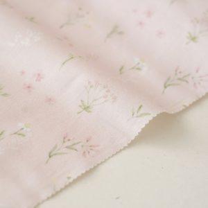 """Отрез ткани """"Forest story - Розовый луг"""" 40х50 см"""