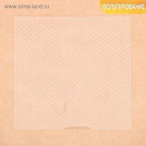 Ацетатный лист «Горошек», 20 × 20 см