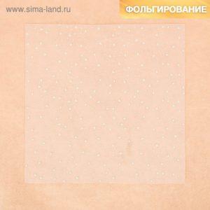 Ацетатный лист с фольгированием «Звездное небо», 20 × 20 см