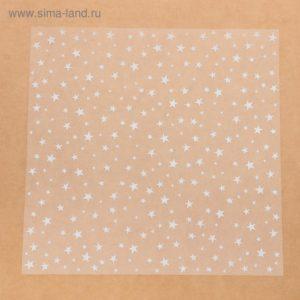 Ацетатный лист «Звёздочки», 30,5 × 30,5 см
