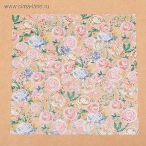 Ацетатный лист «Райский сад», 30,5 × 30,5 см