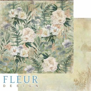"""FD1006503 Лист """"Полевые цветы"""", коллекция """"Дары полей"""""""