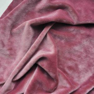Велюр, цвет темно-розовый, 50х45 см