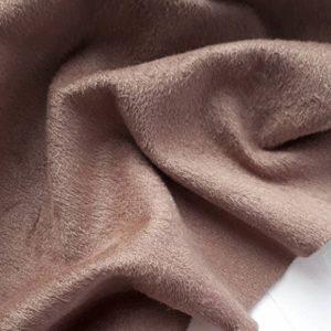 Односторонняя замша, цвет светло-коричневый