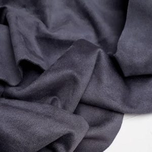 Двусторонняя замша, цвет темно-серый