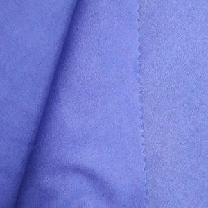 Искусственная замша двусторонняя, цвет фиолетово-сиреневый