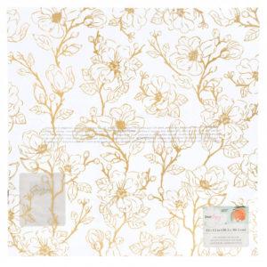 348207 Dear Lizzy - Лист кальки (веллум) с золотым фольгированием - Коллекция «Its All Good»