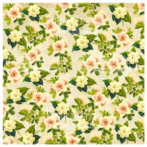 "FDV-0003 Деко веллум (лист кальки с рисунком) ""Rose garden"" 29х29см"